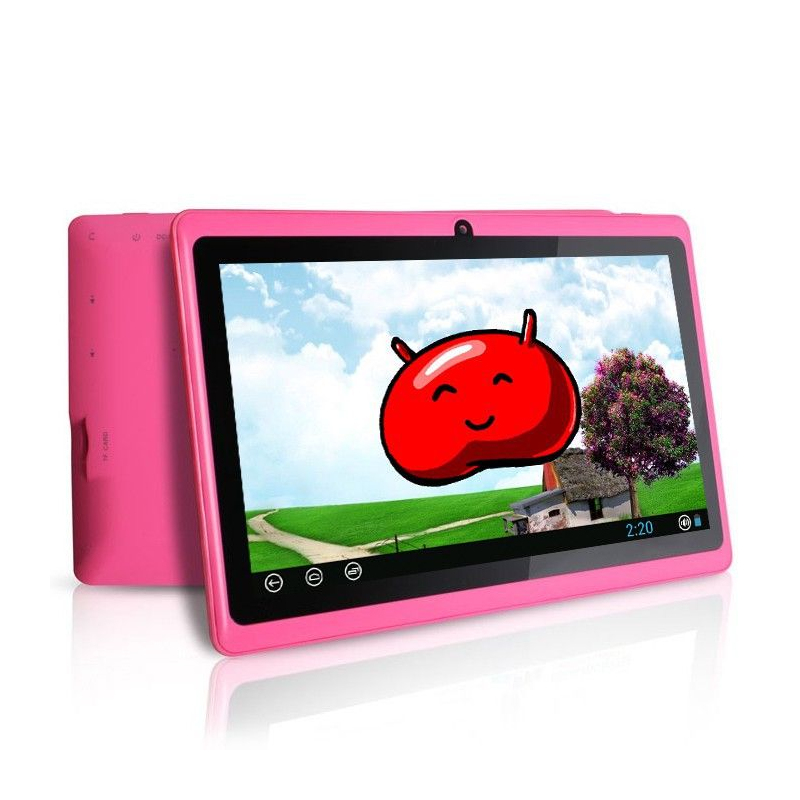 tablette tactile android 4 1 jelly bean 7 pouces capacitif 10 go rose. Black Bedroom Furniture Sets. Home Design Ideas