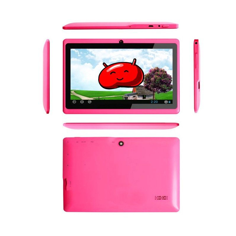 tablette tactile android 4 1 jelly bean 7 pouces capacitif 18 go rose. Black Bedroom Furniture Sets. Home Design Ideas