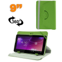 Housse universelle tablette 9 pouces protection support 360° Vert - Housse tablette - www.yonis-shop.com