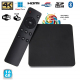 Mini PC Android TV Box 4K passerelle multimédia RAM 2Go CPU 2Ghz 16 Go - Box TV Android - www.yonis-shop.com