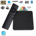 Mini PC Android TV Box 4K passerelle multimédia RAM 2Go CPU 2Ghz 16 Go - Android TV box - www.yonis-shop.com