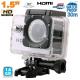 Caméra sport action étanche 1.5'' HD 720p grand angle 140° argent 16Go - Caméra waterproof - www.yonis-shop.com