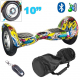 Hoverboard 10 pouces skate électrique Gyropode 36V Comics - Hoverboard - www.yonis-shop.com