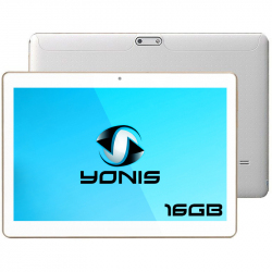 Tablette 3G 10 pouces Quad Core 1Go RAM Android Dual SIM GPS 16Go Blanc - Tablette tactile 10 pouces - www.yonis-shop.com