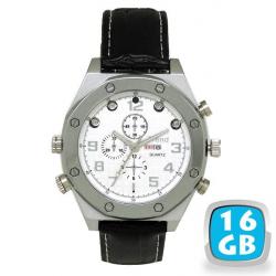 Montre caméra espion HD 720p vision nocturne MP3 16 Go swag - Montre espion - www.yonis-shop.com