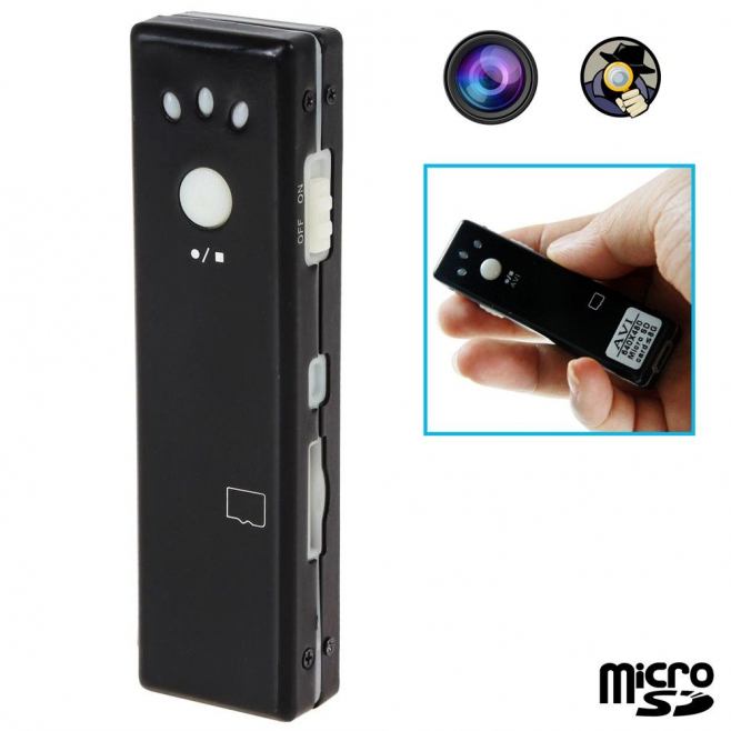 Mini camera espion appareil photo video chewing gum Micro SD USB - Autres caméras espion - www.yonis-shop.com