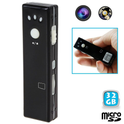 Mini camera espion appareil photo video chewing gum Micro SD USB 32 Go