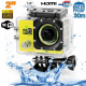 Camera sport wifi étanche caisson waterproof 12 MP Full HD Jaune - Camera sport étanche - www.yonis-shop.com
