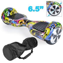 Hoverboard skate électrique 6.5 pouces Smartboard Gyropode 36V Comics - Hoverboard - www.yonis-shop.com