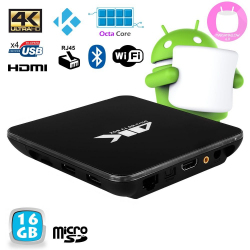 Mini PC Android 7.1 Octa Core 3Go RAM Kodi Smart TV Box 4K 32Go