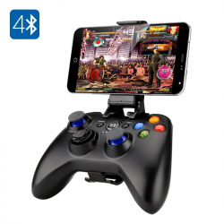 Manette de Jeu Bluetooth Gamepad Smartphone 2 Sticks 8 Boutons Actions