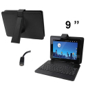 Housse clavier universelle tablette tactile 9 pouces Micro USB support - Housse tablette - www.yonis-shop.com