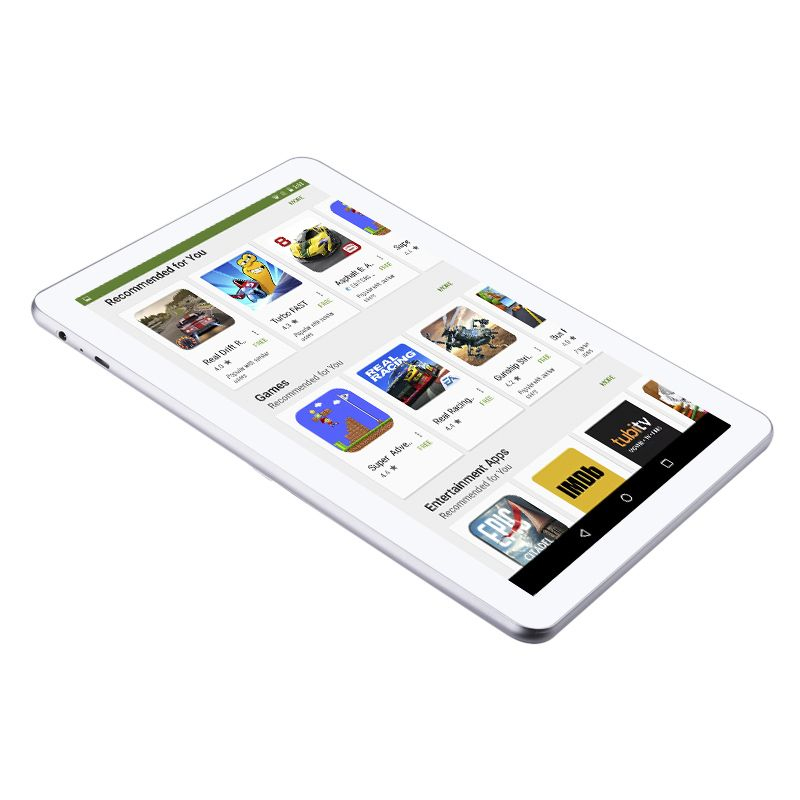 tablette 4g android 6 0 ecran ips 10 pouces hd 1gb ram double sim 16go. Black Bedroom Furniture Sets. Home Design Ideas