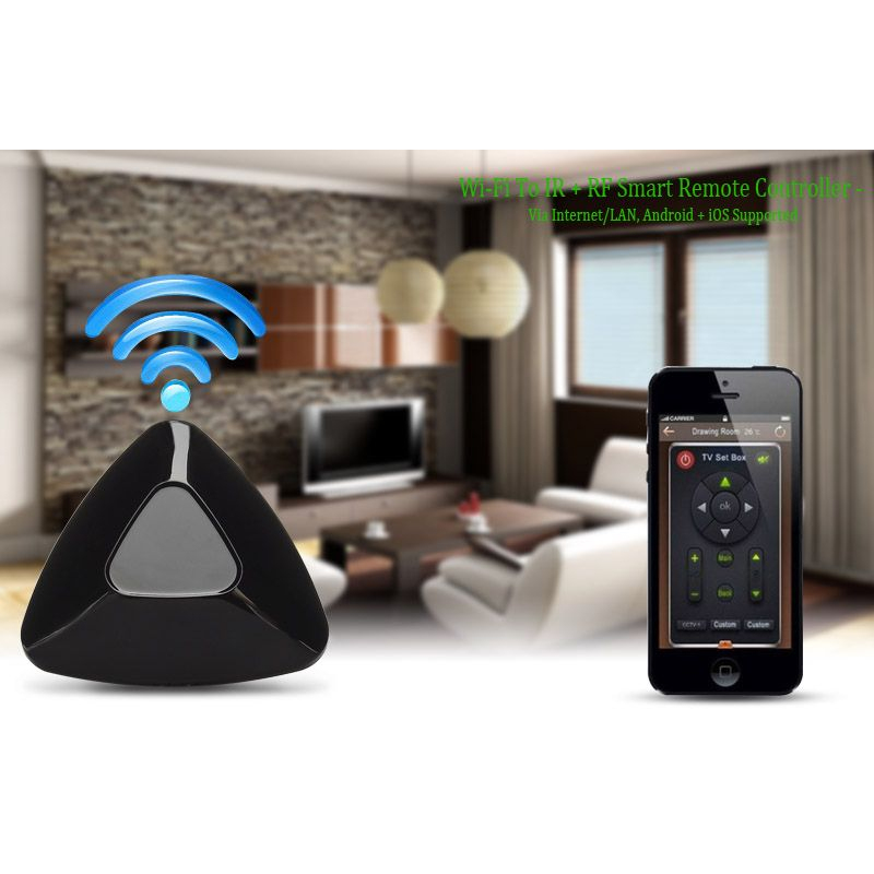 domotique maison connect e t l commande intelligente wifi vers ir rf. Black Bedroom Furniture Sets. Home Design Ideas