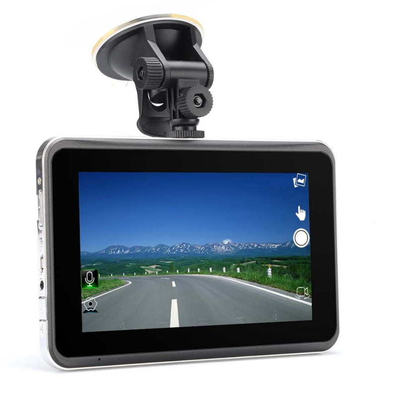 gps android 7 pouces tactile camera dvr dash cam hd 720p wifi voiture. Black Bedroom Furniture Sets. Home Design Ideas