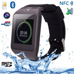 Montre connectée Smartwatch Android intelligente Caméra MP4 NFC Sport - Montre connectée - www.yonis-shop.com