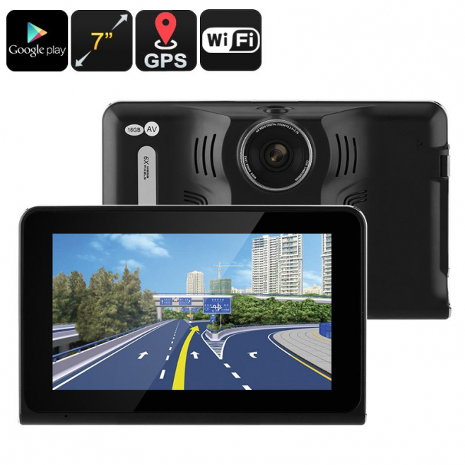 dashcam dvr tablette 7 pouces cam ra gps voiture android quadcore wifi. Black Bedroom Furniture Sets. Home Design Ideas