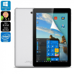 Tablette 9 Pouces Dual Boot Windows 10 Android 2Gb Ram Cpu Intel 32Go Tablette tactile 9 pouces YONIS