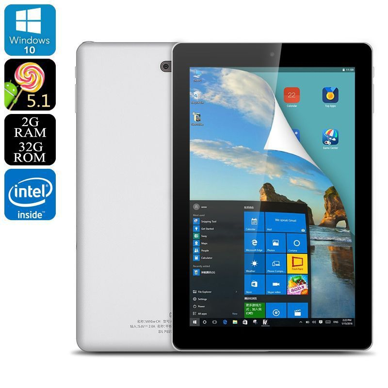 tablette 9 pouces dual boot windows 10 android 2gb ram cpu. Black Bedroom Furniture Sets. Home Design Ideas