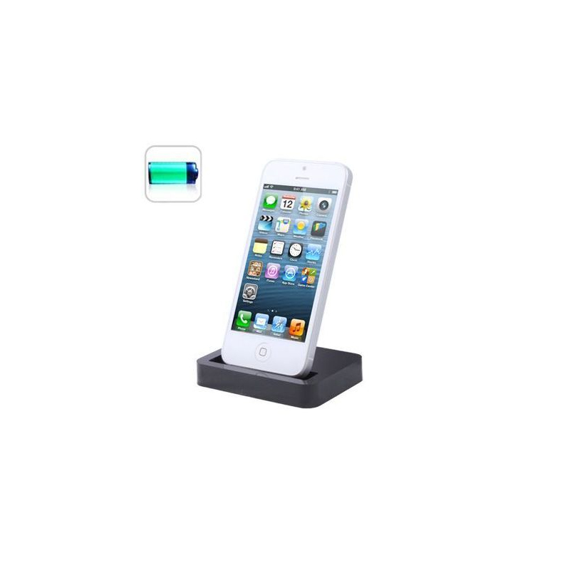 station d 39 accueil dock de synchronisation chargeur iphone. Black Bedroom Furniture Sets. Home Design Ideas