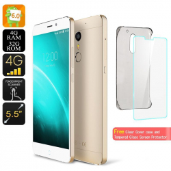 Smartphone 5.5 Pouces Dual Sim 4G Android 6.0 Octa Core 4Gb Ram 32Go Smartphone 5.5 pouces YONIS