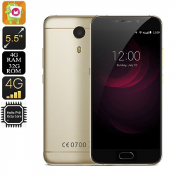 "Smartphone 5.5\"" 4G Android 6.0 Helio P10 Octa Core 2.0Ghz 4Gb Ram 32Go Smartphone 5.5 pouces YONIS"