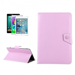"Housse tablette universelle 9\"" Etui Simili Cuir Support Pochette Rose - Housse tablette - www.yonis-shop.com"