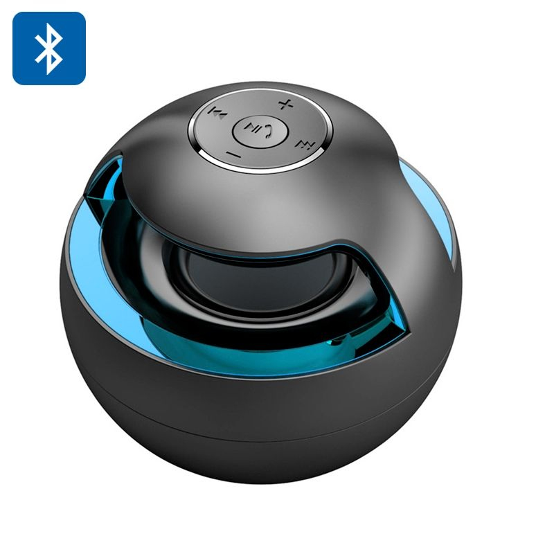 enceinte portable bluteooth stereo nomade lumineuse led magic ball. Black Bedroom Furniture Sets. Home Design Ideas