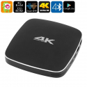 Android TV Box 4K Mini PC Hexa Core Wi-Fi Dual Band 4Go RAM 2Ghz 32Go - Android TV box - www.yonis-shop.com