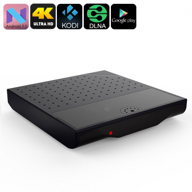 Mini PC Android TV Box 7.1 Nougat portable 4K OctaCore WIFI 8Go Noir - Box TV Android - www.yonis-shop.com