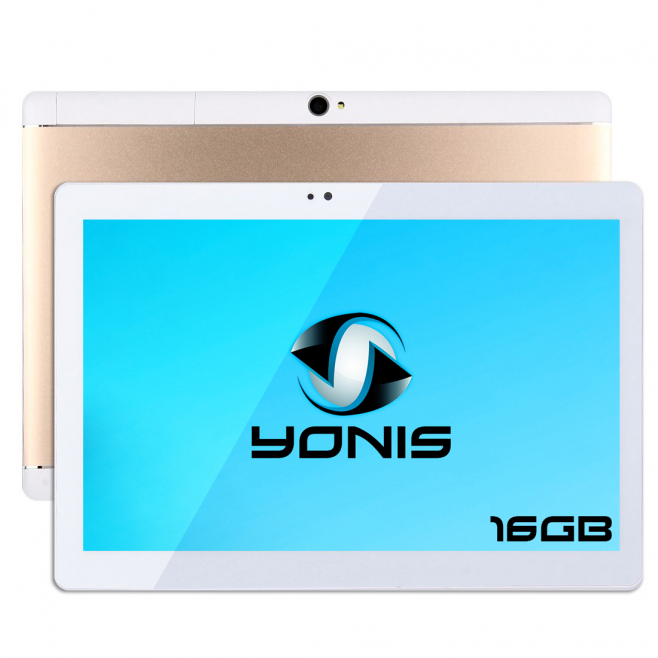 Tablette 10 pouces 3G Android 5.1 Quad Core Double SIM 1GB RAM 16Go Or - Tablette tactile 10 pouces - www.yonis-shop.com