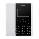 Aiek X7 Card Mobile Phone, Network: 2G, 0.96 inch Screen, Support MP3, LED Torch, FM, Alarm, QQ Function, 8GB TF Card (White)...