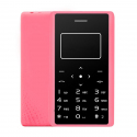 Aiek X7 Card Mobile Phone, Network: 2G, 0.96 inch Screen, Support MP3, LED Torch, FM, Alarm, QQ Function, 8GB TF Card (Pink) ...
