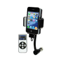 Transmetteur FM iPhone 4 4S 3G 3GS iPod support télécommande - Transmetteur fm iPhone - www.yonis-shop.com
