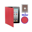 Smart cover iPad 2 sticker rouge - Smart cover iPad - www.yonis-shop.com