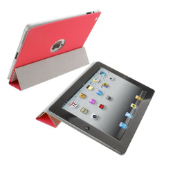 Smart cover new iPad 3 sticker rouge - Smart cover iPad - www.yonis-shop.com