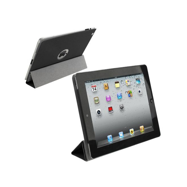 smart cover new ipad 4 retina housse coque sticker noir. Black Bedroom Furniture Sets. Home Design Ideas