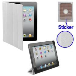 Smart cover iPad 2 sticker protection support blanc - Smart cover iPad - www.yonis-shop.com