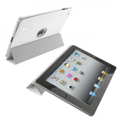 Smart cover new iPad 3 housse coque sticker blanc 9.7 - Smart cover iPad - www.yonis-shop.com