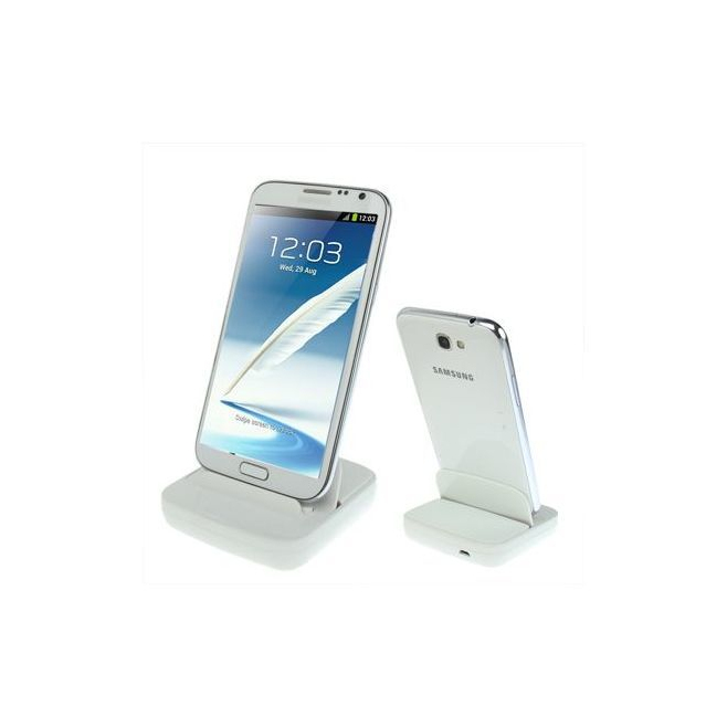 Dock de synchronisation Samsung Galaxy Note 2 et Note chargeur Blanc - Station d'accueil smartphone - www.yonis-shop.com