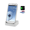 Dock de synchronisation Samsung Galaxy S3 I9300 chargeur Blanc - Station d'accueil - www.yonis-shop.com