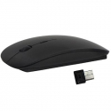 Souris Sans Fil Optique 2.4 GHz USB 2.0 Plug&Play Windows Mac Ultra fine Noir - Souris - www.yonis-shop.com