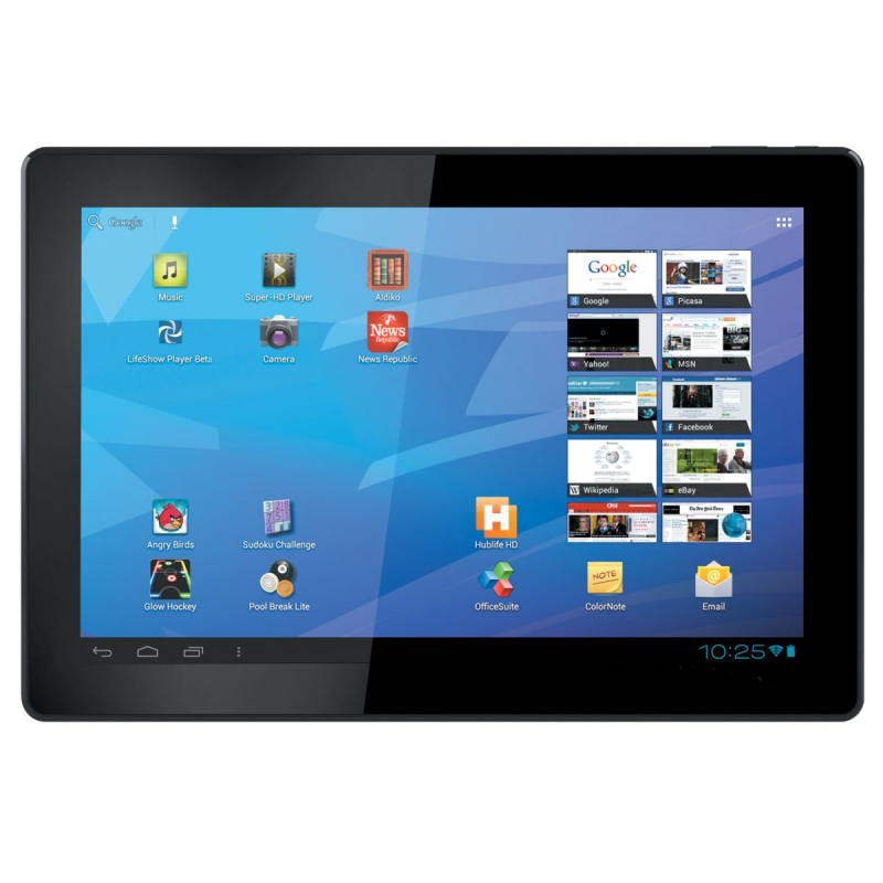 tablette 10 pouces android 4 4 quad core gps hdmi. Black Bedroom Furniture Sets. Home Design Ideas