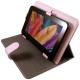 Housse universelle tablette tactile 7 pouces support étui Rose - Housse tablette - www.yonis-shop.com
