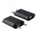 Chargeur secteur adaptateur USB iPhone universel noir - Chargeur smartphone - www.yonis-shop.com