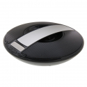 Enceinte Bluetooth Portable Subwoofer Stéréo MP3 Micro SD USB Radio FM Kit Mains Libres Argent - Enceinte Bluetooth - www.yon...