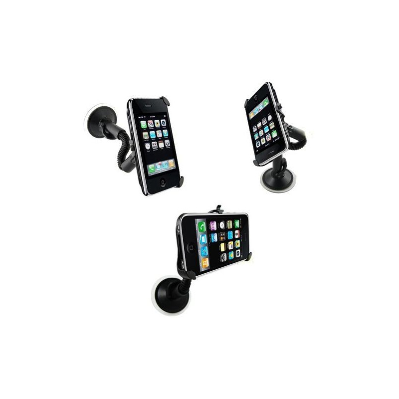 support voiture iphone 3g 3gs holder auto. Black Bedroom Furniture Sets. Home Design Ideas