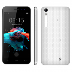 "Smartphone Android 6.0 Telephone Portable 3G 5"" HD Dual SIM Blanc"