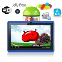 Tablette tactile Android 4.1 Jelly Bean 7 pouces capacitif 6 Go Bleu Tablette tactile 7 pouces YONIS