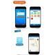 Traceur GPS Compatible iPhone Android Tracker pour Chats et Chiens Étanche IP66 Surveillance Vocale Bleu - Traceur GPS - www....